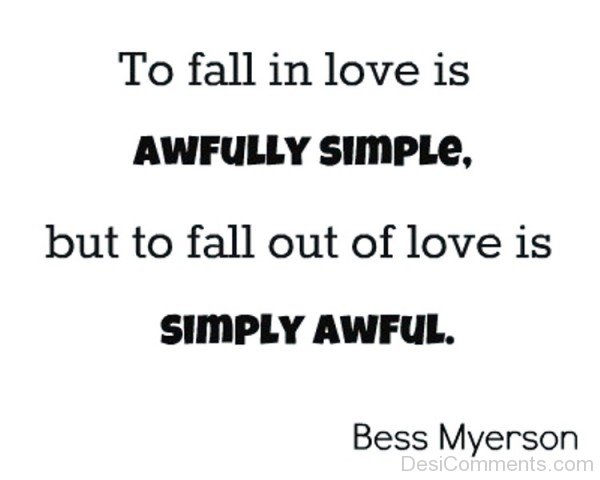 To Fall In Love Is Awfully Simple-kj83509DC0DC13