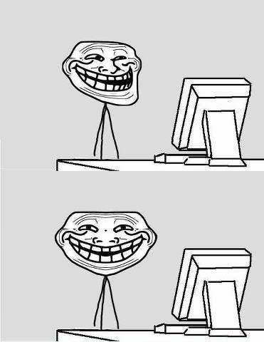Troll Front Face View