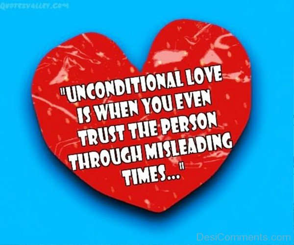 Unconditional Love Is When You Even Trust-tyu519DESI17