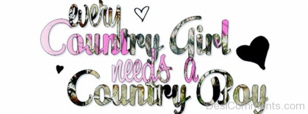 Very Country girl