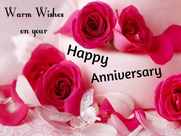 Warm Wishes On Your Happy  Anniversary-DC46