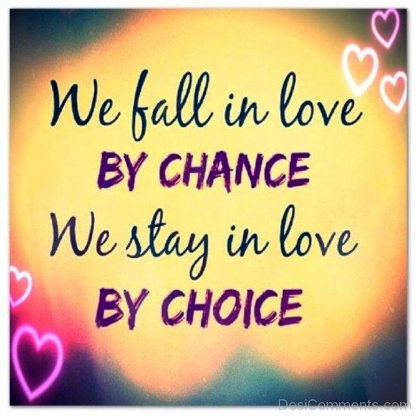 We Fall In Love By Chance - DC445