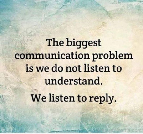 We Listen To Reply
