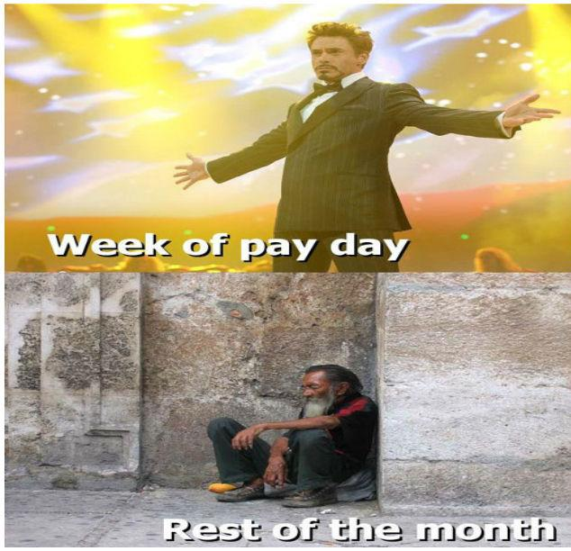 Week Of Pay Day