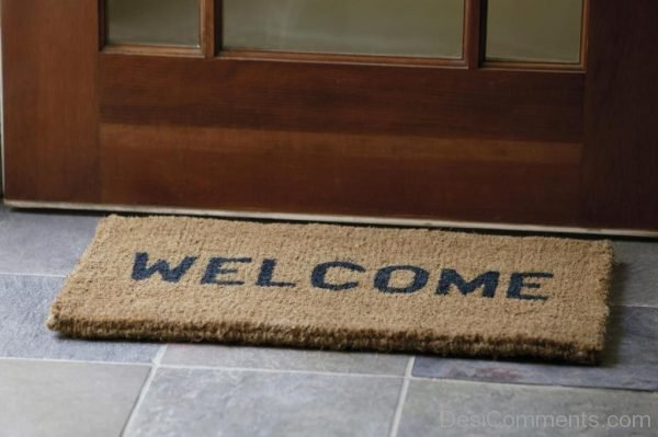 Welcome On Mat