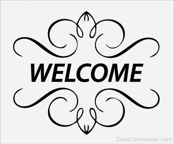 Welcome Simple Greeting Image-P8820dc07