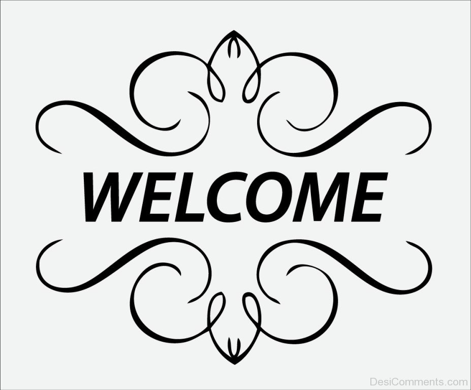 Welcome Simple Greeting Image
