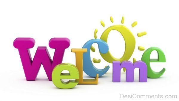 Welcome With 3D Fonts-P8825dc12