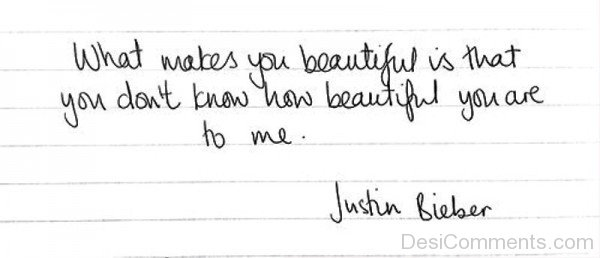What Makes You Beautiful Is That You-ybe2048DC037