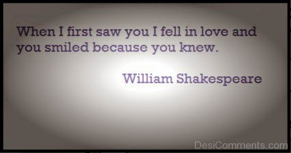 When I First Saw You I Fell In Love-exz241DC15