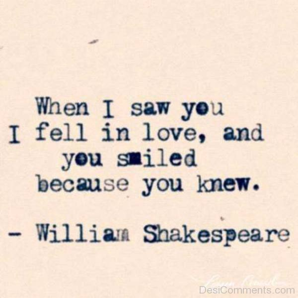 When I Saw You I Fell In Love-exz242DC05