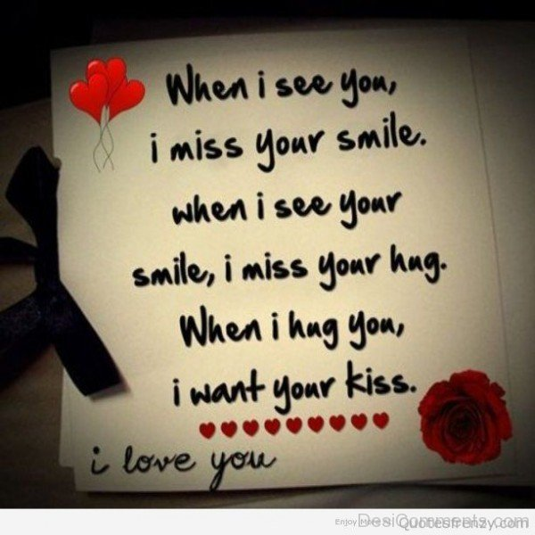 When I See You I Miss Your Smile-DC7d2c31