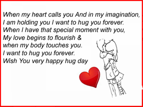 I Wanna Cuddle With You Poem: Hug Day Pictures, Images, Graphics