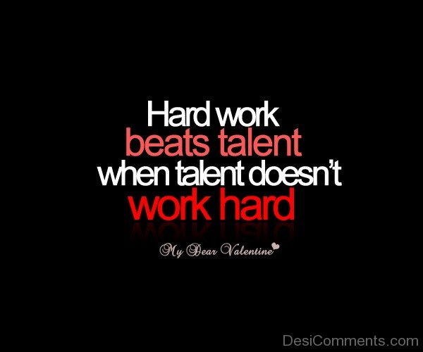 When Talent Doesn't Work Hard-MP0369060Dc066