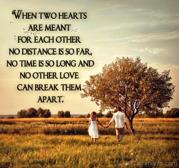 When Two Hearts Are Meant- DC559