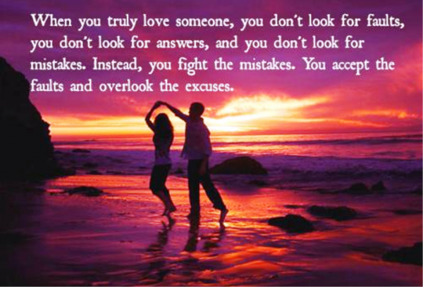 Truly Love Someone