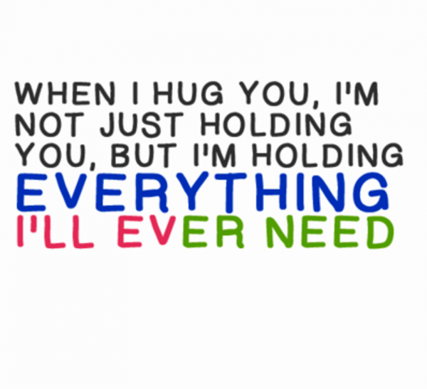 When i hug you im not just holding- dc 77130