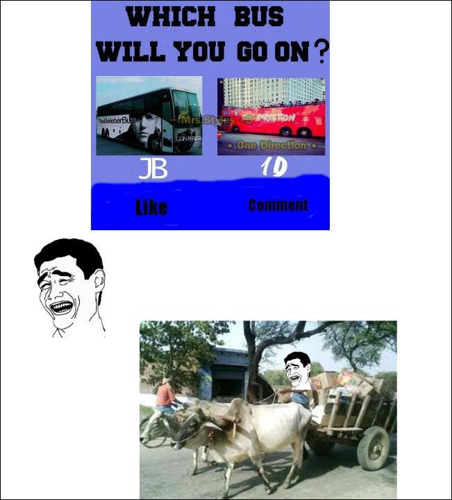 Which Bus Will You Go On