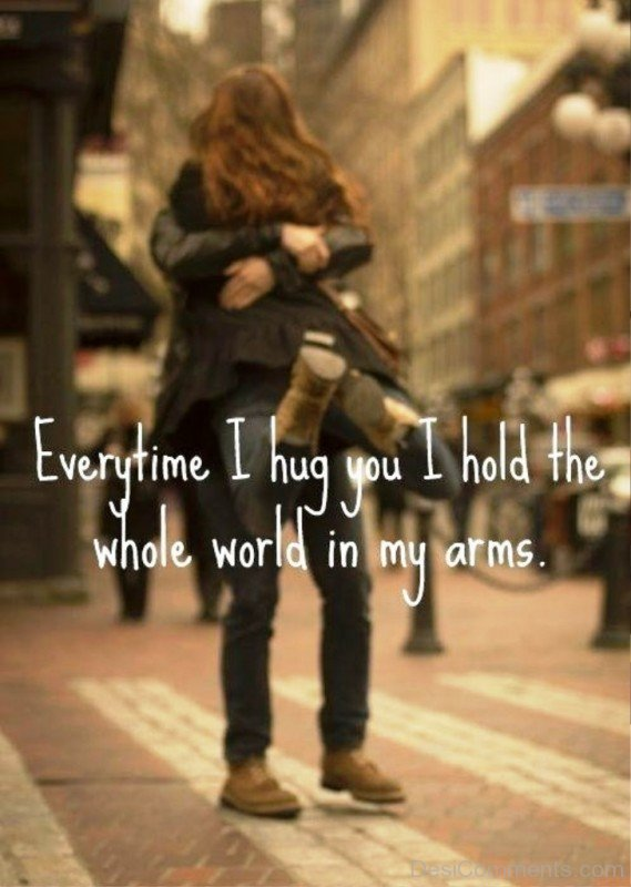 Whole world in my arms- dc 77110