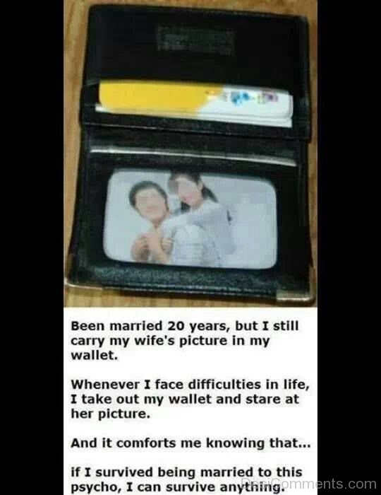 Why I Carry My Wife  Picture