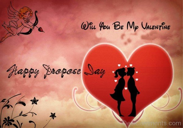 Will You Be My Valentine Happy Propose Day-pol621DESI19
