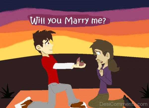 Will You Marry Me Boy Proposed Girl