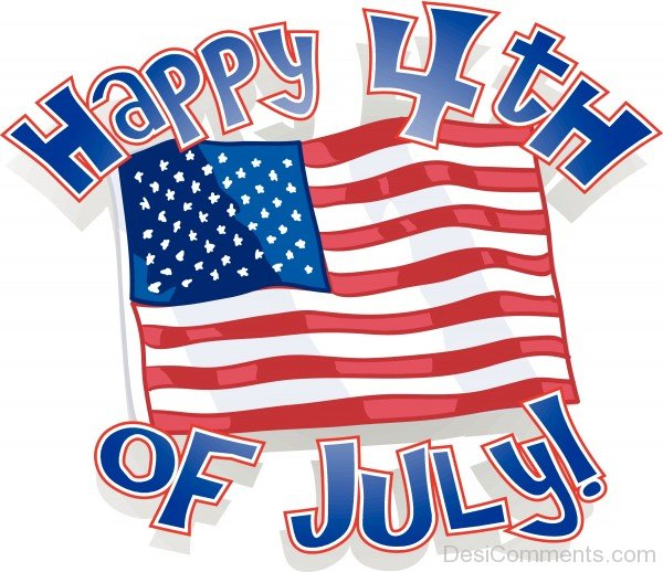 Wish You Happy 4Th Of July !