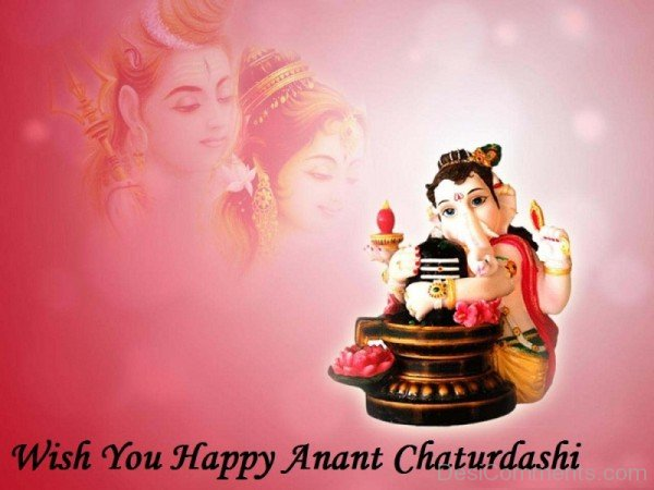 Wish You Happy  Anant Chaturdashi