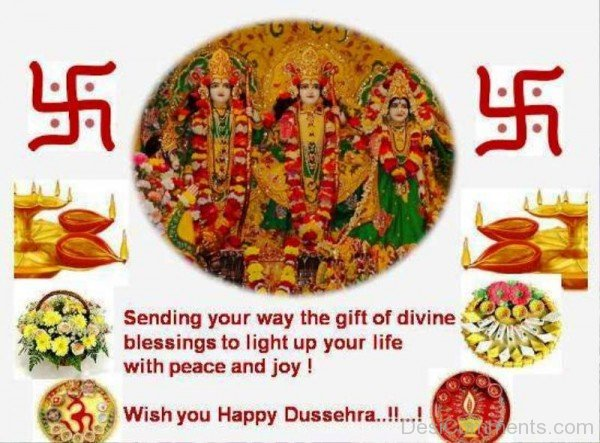 Picture: Wish You  Happy Dussehra !!