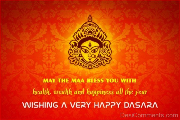 Wishing A Very Happy Dasara-DC0232