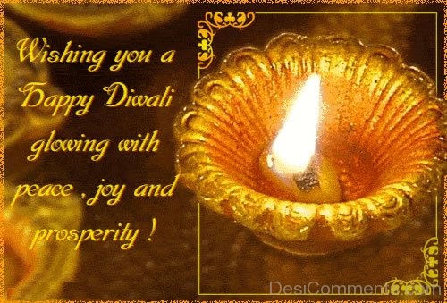 Wishing You A Happy Diwali Glowing With Peace,Joy And Prosperity!-DC936DC18