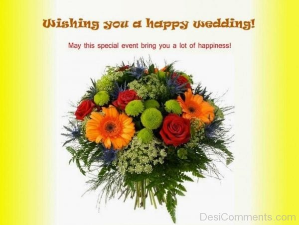 Wishing You A Happy Wedding !-DC43