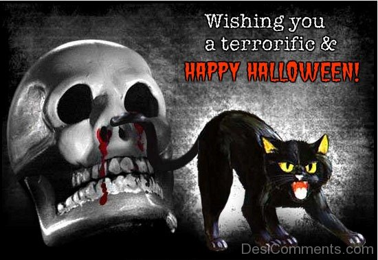 Wishing You A Terrific And Happy Halloween