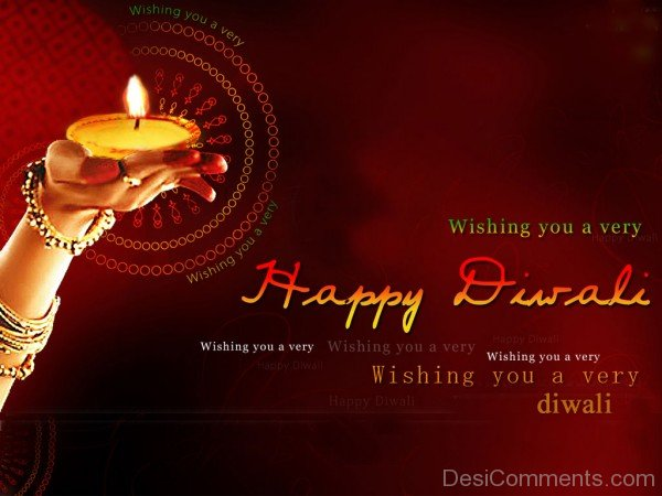 Wishing You A Very Diwali