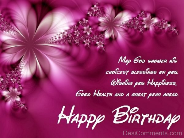 Picture: Wishing You Happiness Happy Birthday
