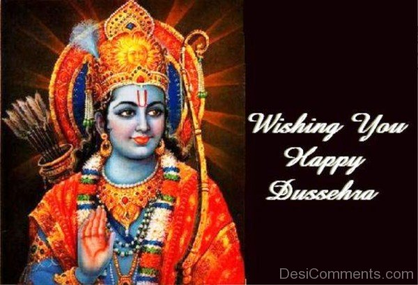 Wishing You  Happy Dussehra-DC0234