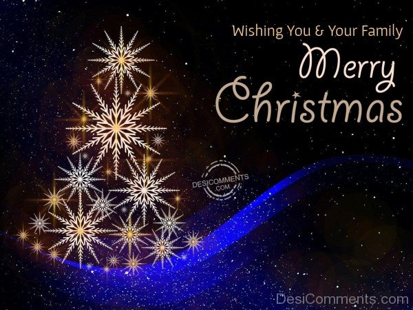 Wishing you merry christmas
