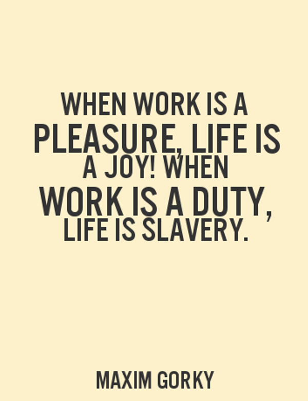 Work Is A Duty-DC50