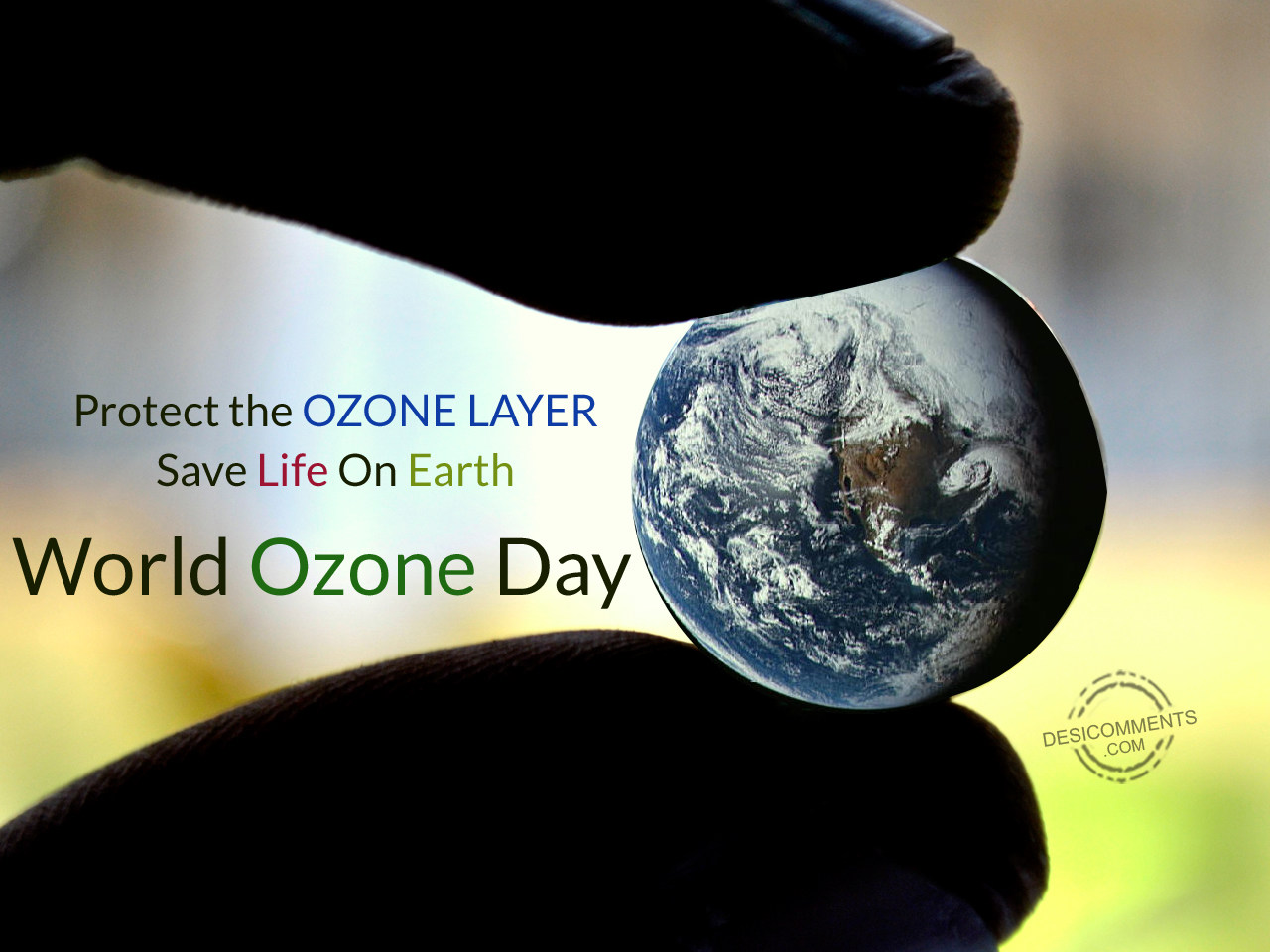 Save The World Images World Ozone Day Save Life