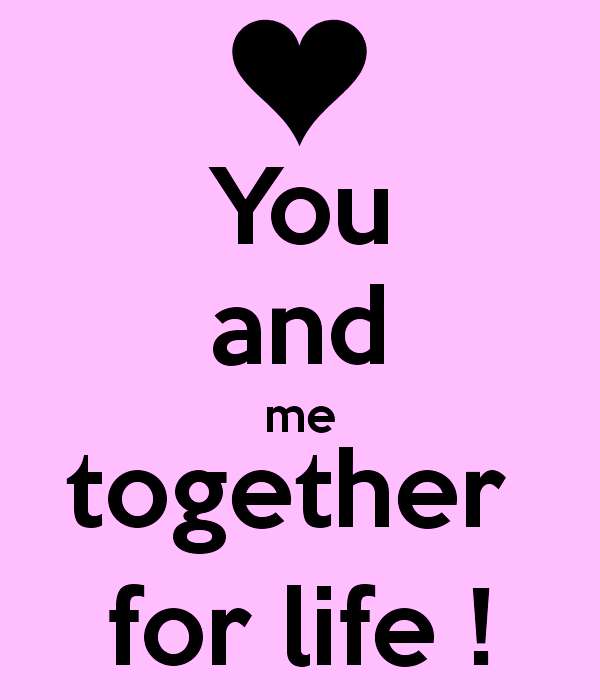 You And Me Together For Life-pol9109DC016