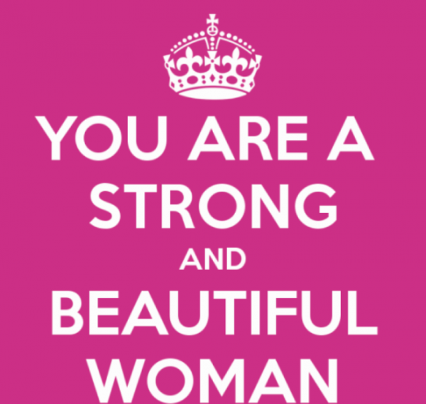 You Are A Strong And Beautiful Woman-DC075