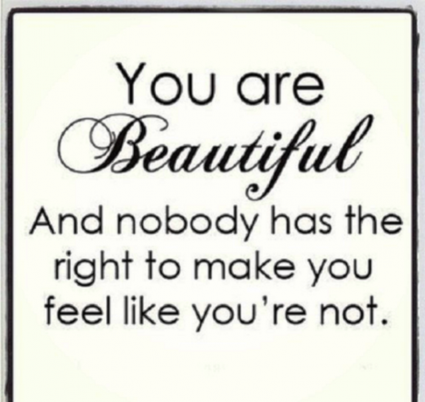 You Are Beautiful And Nobody Has The Right-DC082