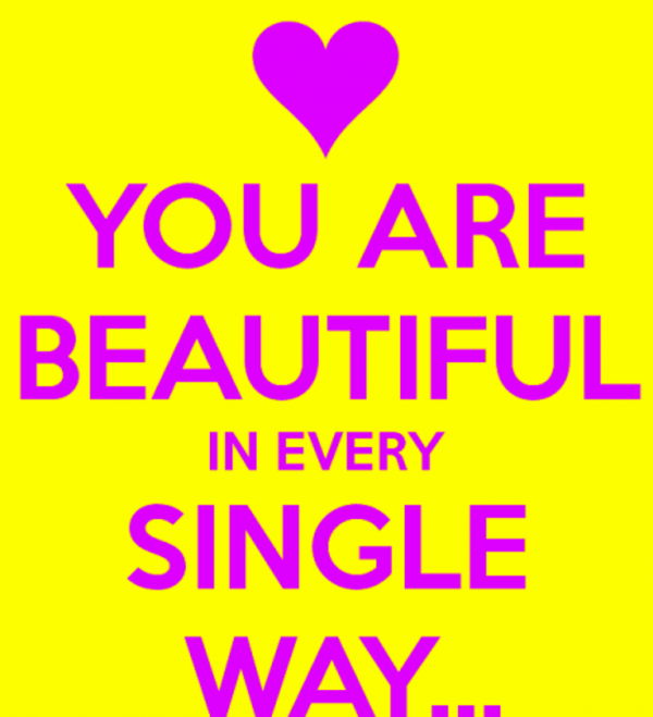 You Are Beautiful In Every Single Way-DC087