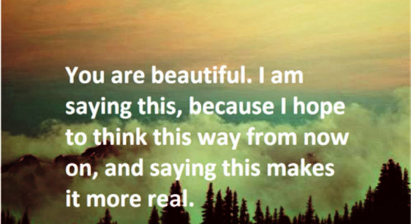 You Are Beautiful,I Am Saying This-DC103