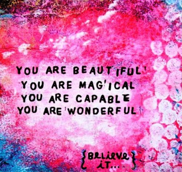 You Are Beautiful,You Are Magical-ybe2078DC084