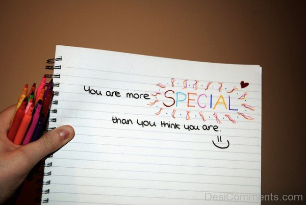 You Are More Special Than You Think You Are-DC63DC47