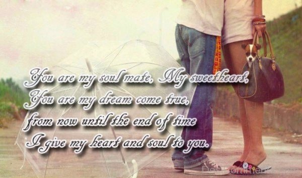 You Are My Soulmate My Sweetheart-yni849DC38