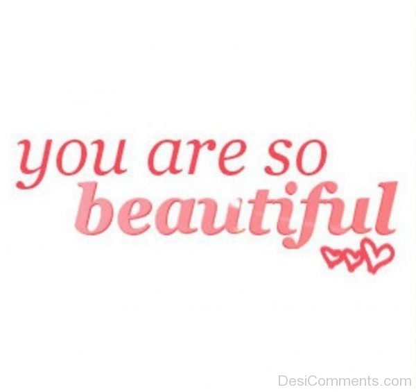 You Are So Beautiful 3-DC117
