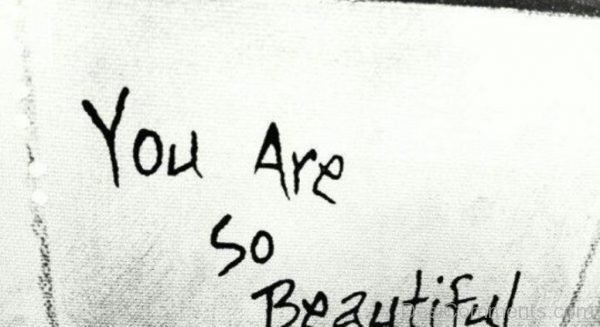 You Are So Beautiful-DC123