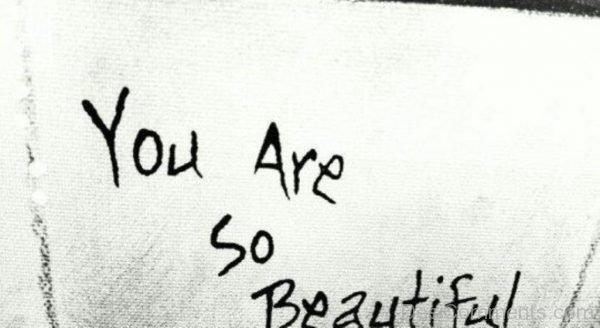 You Are So Beautiful Image-DC118